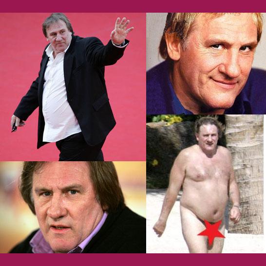 Gérard Depardieu ököllel nyugtatta le magát!