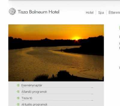 Tisza Balneum Hotel****