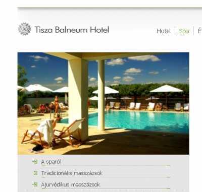 A Tisza Balneum Hotel