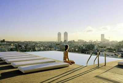 Az Omm Hotel Barcelona