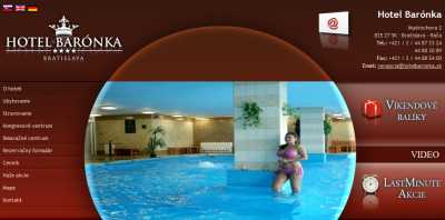 A Hotel Barónka**** - Pozsony