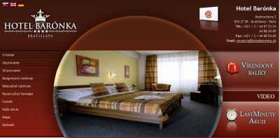Hotel Barónka**** - Pozsony
