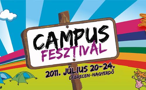 Idén is Campus Fesztivál!