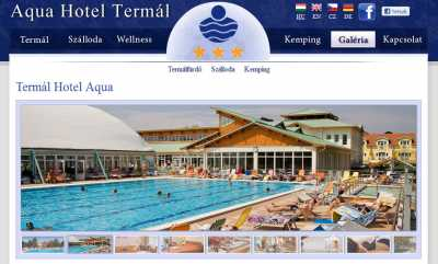 Az AQUA Hotel Termál***