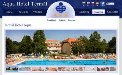 AQUA Hotel Termál*** -