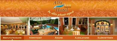 Az Alfa Hotel Miskolc-Tapolcán