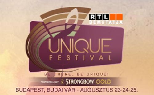 Unique Fesztivál: háromnapos szórakozás a Budai Várban