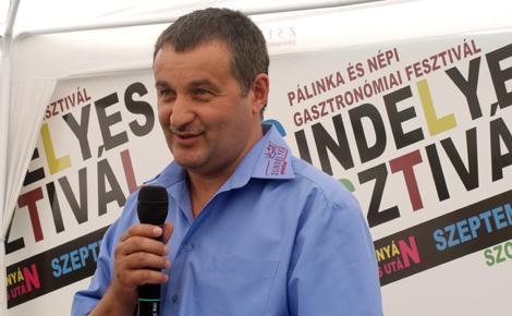 Dr. Fazekas Sándor, Vidékfejlesztési miniszer 2012-ben részt vesz a Zsindelyes Fesztiválon