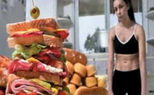 Az egyik leggyakoribb étkezési zavar a bulimia.