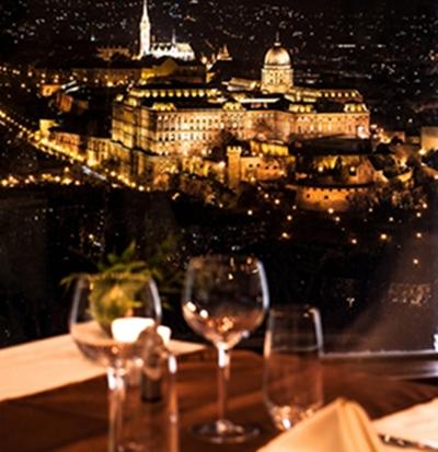 Citadella Panorama Restaurant – a Gellérthegy csúcsán