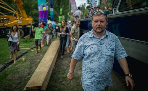 Gerendai Károly, a Sziget Fesztivál főszervezője