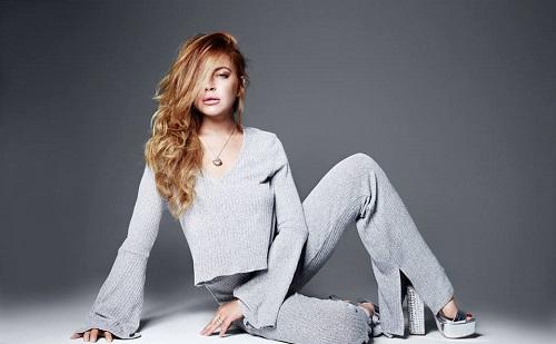 Színpadra lépett Lindsay Lohan