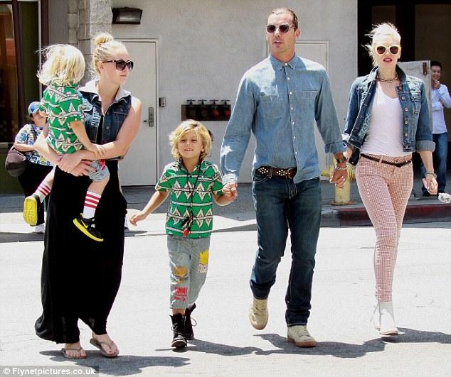 Gavin és családja