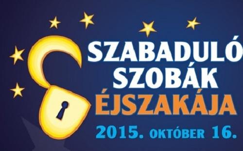 Október 16. -  Szabadulószobák éjszakája