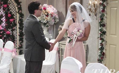 Kukkants bele Penny és Leonard esküvőjébe