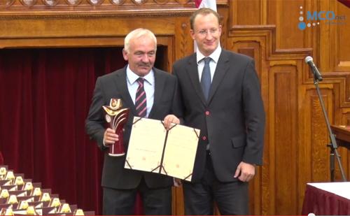 Szőke László, a Budapest Gyógyfürdői és Hévizei Zrt. vezérigazgatója