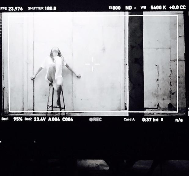 Selena Gomez klipforgatás