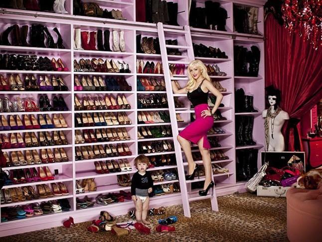 Christina Aguilera gardróbja