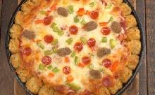 Pogácsás pizza kemény hétkezdésre