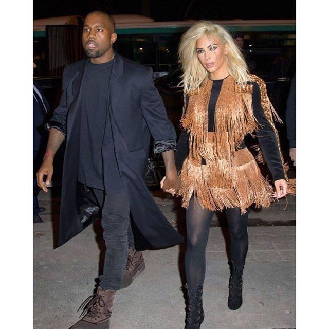 Kanye West és Kim Kardashian
