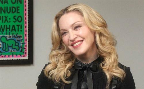 Madonna elsírta magát koncertjén