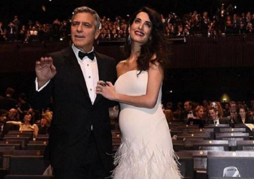 George Clooney és Amal hamarosan szülők lesznek
