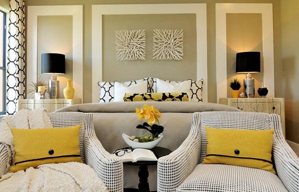 Kiválaszthatjuk, hogy a fal legyen sárga, vagy a kiegészítők