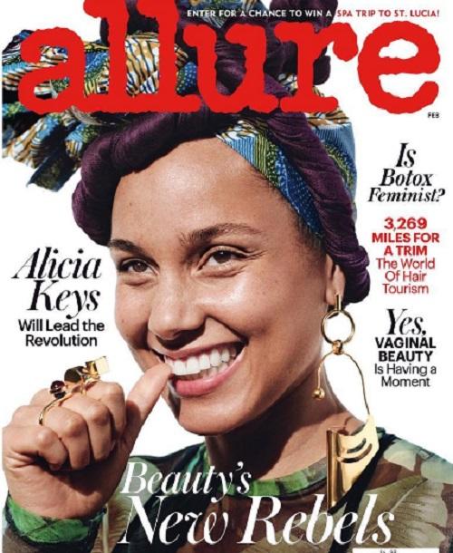 Alicia Keys egy éven át nélkülözte a sminket