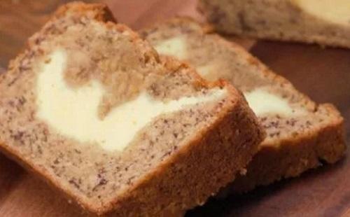Komfortétel: banános-krémsajtos kenyér