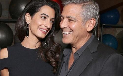 Lányuk és fiuk is lesz Clooneyéknak!
