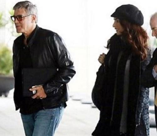 George Clooney és felesége, Amal kisfiút és kislányt várnak