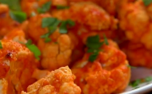 Kis kalória: karfiol Buffalo módra