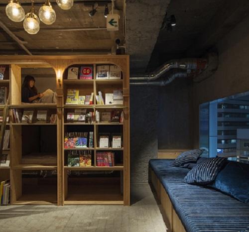 Hangulatos belső terekké alakították az alapvetően könyvtár funkciót ellátó helyet