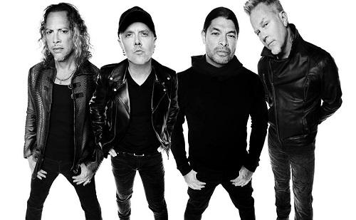 Magyarországra látogat a Metallica