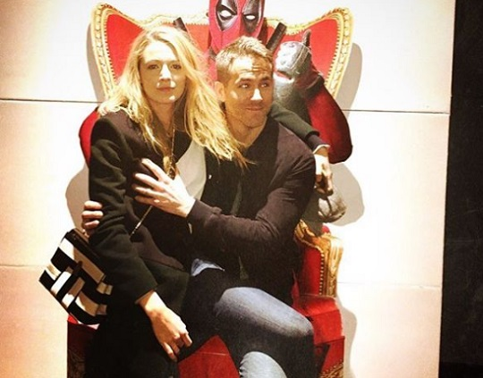 Ryan Reynolds és felesége, Blake Lively