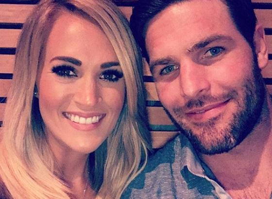 Carrie Underwoodot a férje, Mike Fisher segíti a gyógyulásban