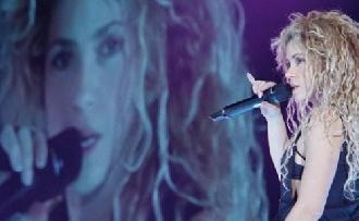 Komoly gondok vannak Shakira hangjával