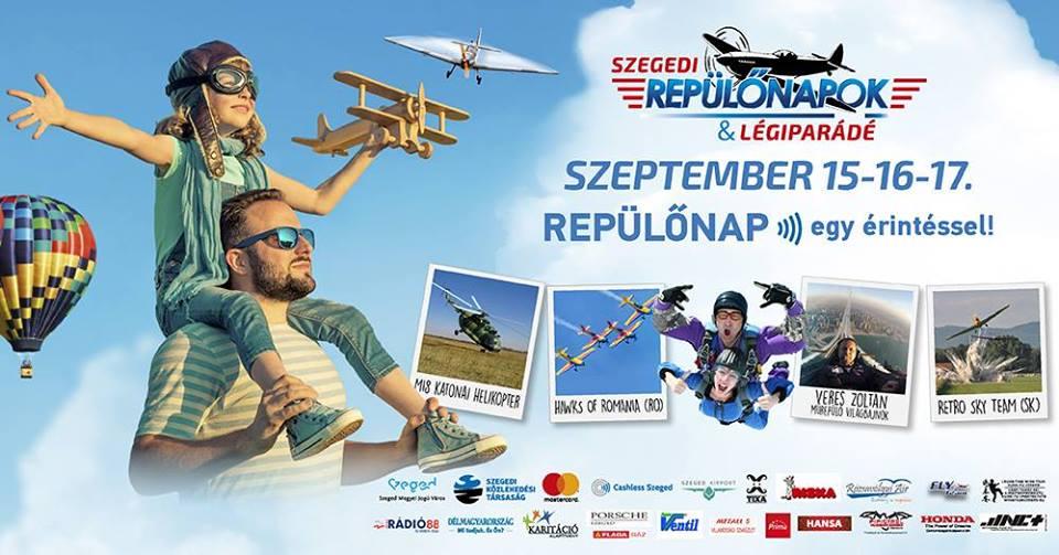 Repülőnapok Szegeden