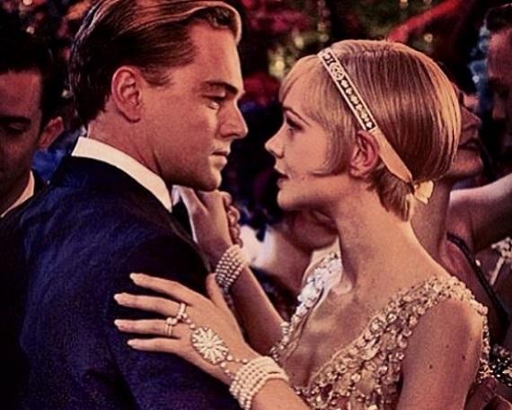 Leonardo DiCaprio és Carey Mulligan a Nagy Gatsby című filmben