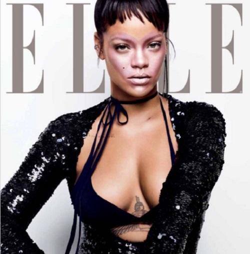Rihanna nem kerülgette a forrókását