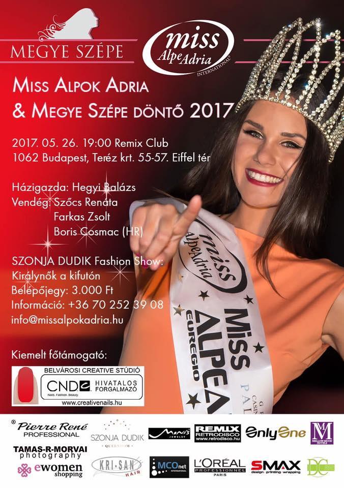 Miss Alpok Adria Szépségverseny Döntő