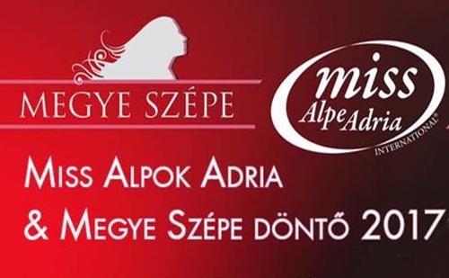 16 fiatal lány a Miss Alpok Adria döntőjében