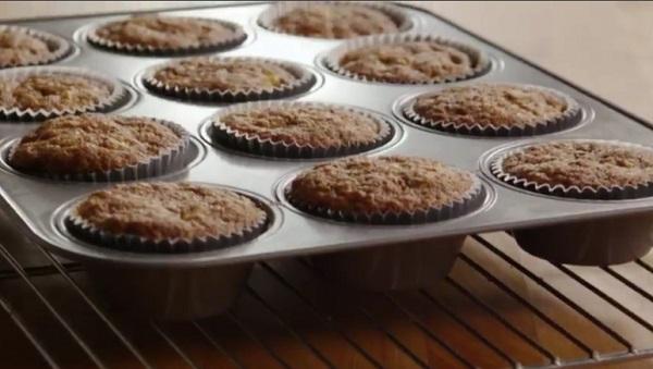 A banános muffin ideális, könnyed nyári sütemény