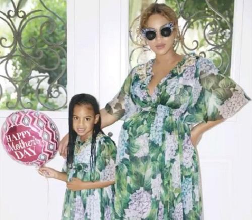 Beyoncé ötéves ányával, Blue Ivy-val - megszülettek a kistestvérek