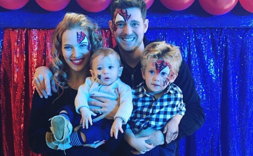 Michael Bublé fia túl van a legrosszabbon?