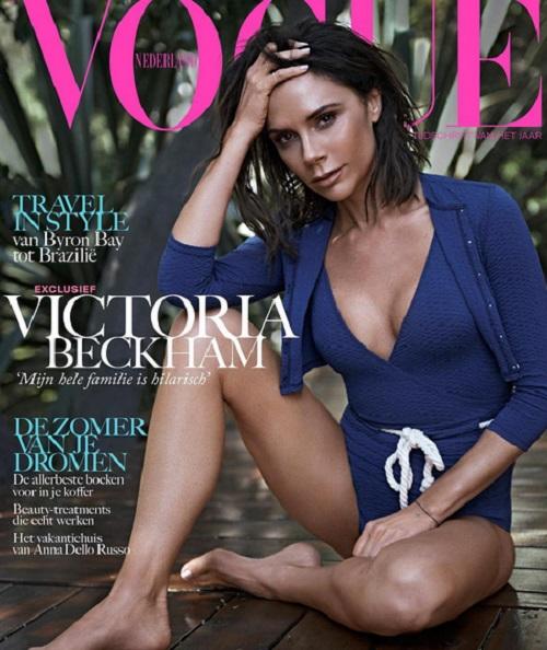 Victoria Beckham a Vogue címlapján