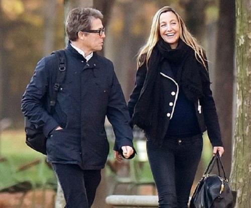 Hugh Grant és Anna Eberstein harmadik gyermekét várja