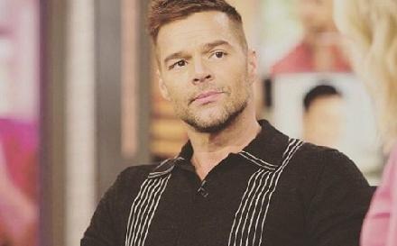 Ricky Martint figyelmeztették